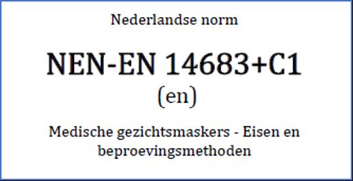 Nen-EN 14683+C1